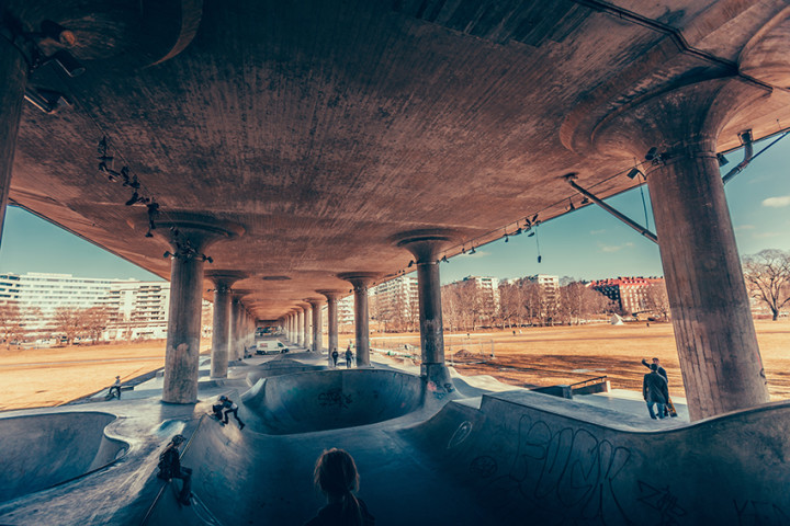 SKATE PARK | Where the show takes place