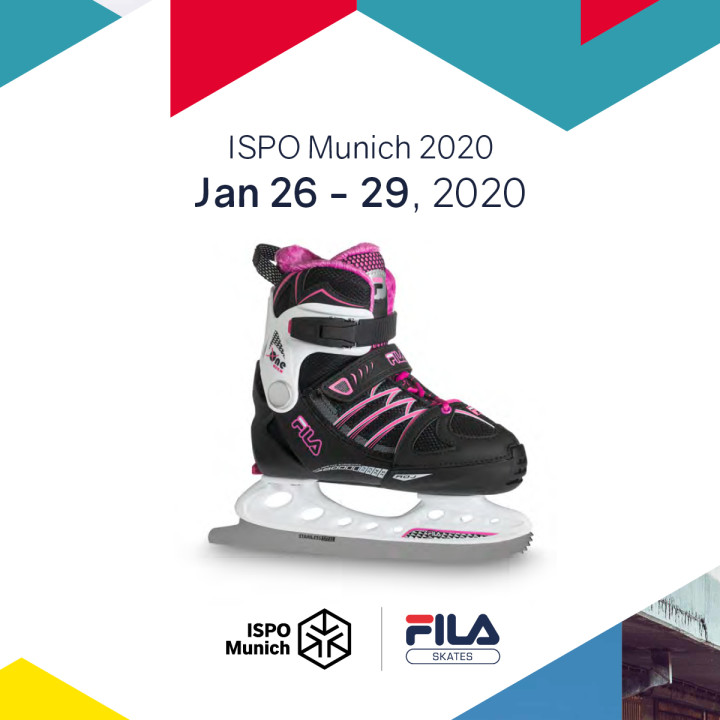FILA SKATES PRESENTS THE NEW COLLECTION | Fall/Winter 2020-21 at ISPO 2020