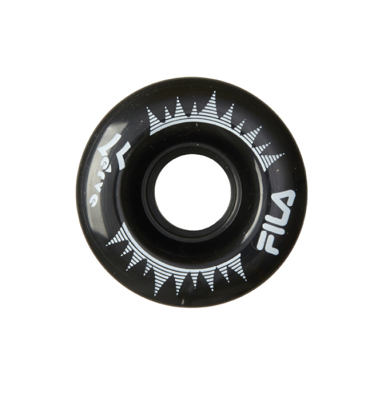 FILA ROLLER WHEELS 58MM BLK/WH