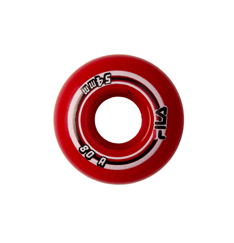 FILA ROLLER WHEELS 54MM RED