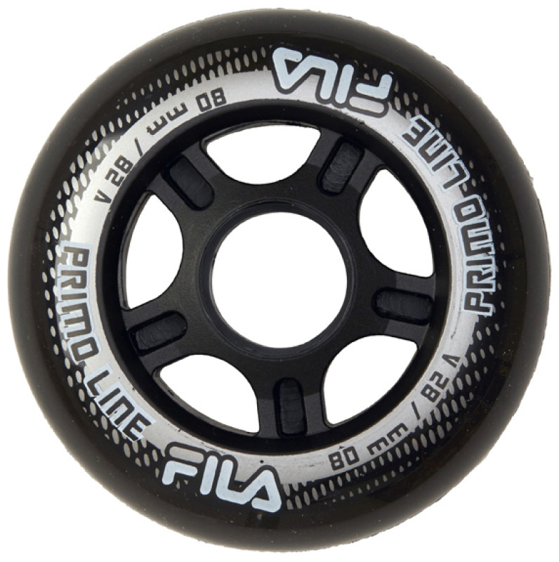 FILA WHEELS 80MM/82A BLACK