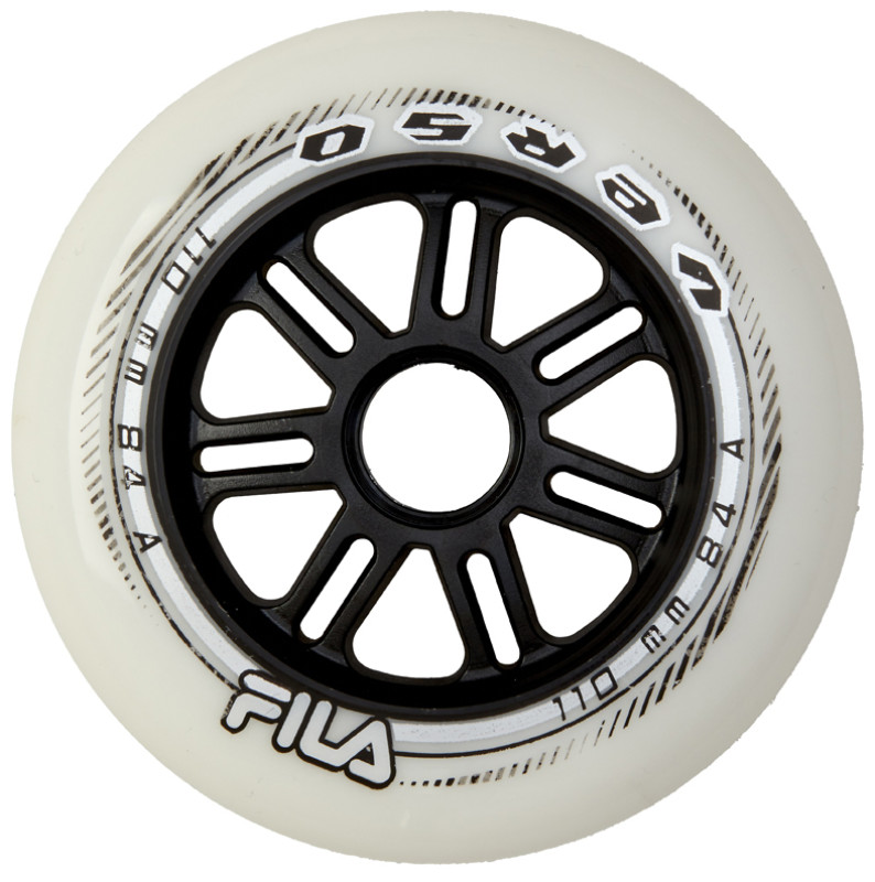FILA WHEELS 110MM/84A WHITE
