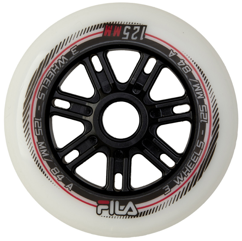 FILA WHEELS 125MM/84A WHITE