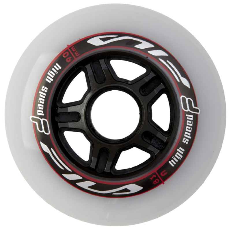 FILA WHEELS 6x90MM/83A WHT/RED