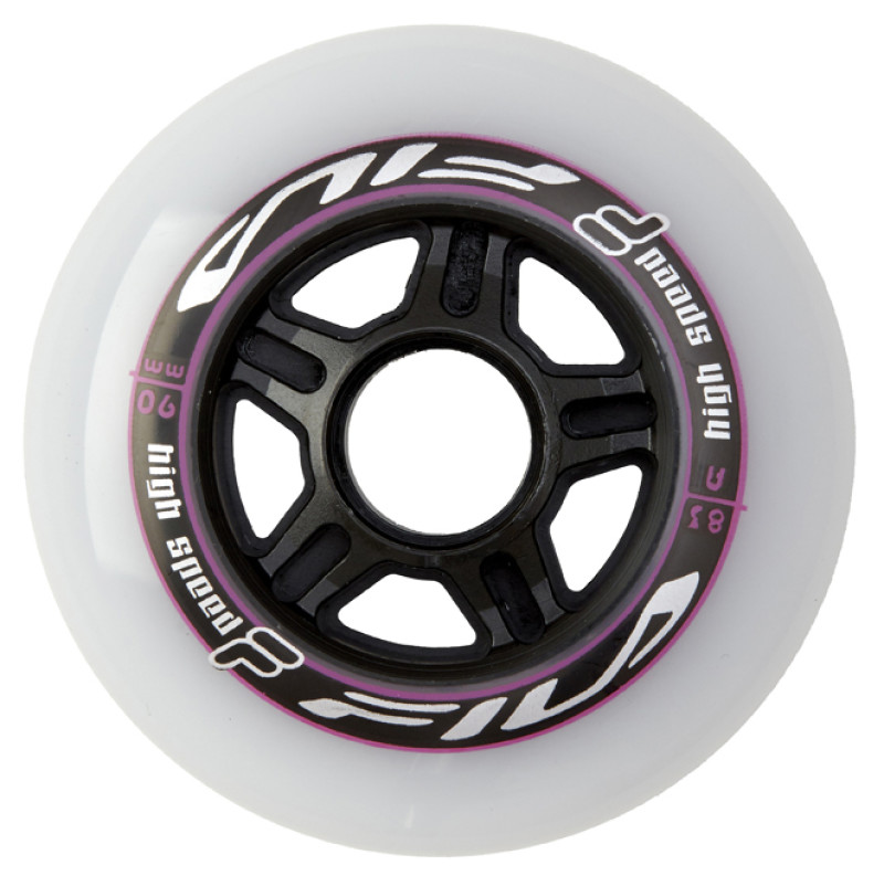 FILA WHEELS 6x90MM/83A WHT/MAG