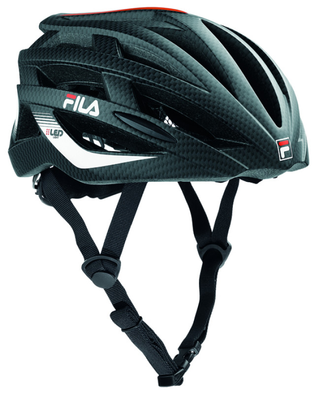 FILA LED HELMET BLACK/RED