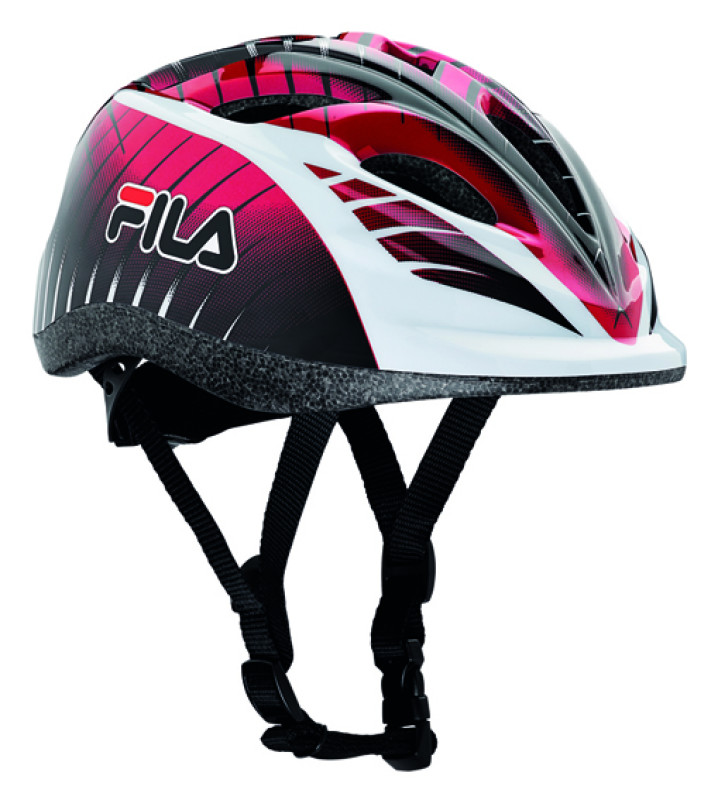 FILA JUNIOR BOY HELMET BLACK/RED