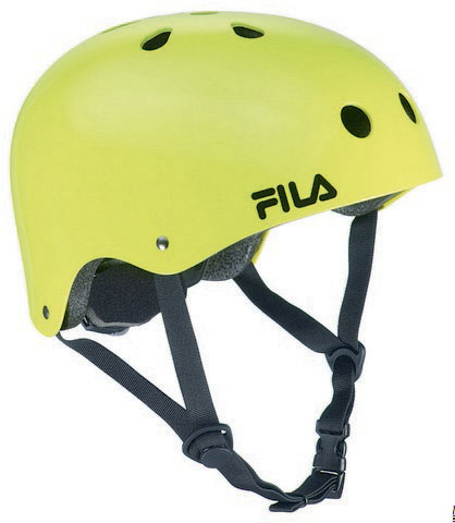 NRK FUN HELMET LIME