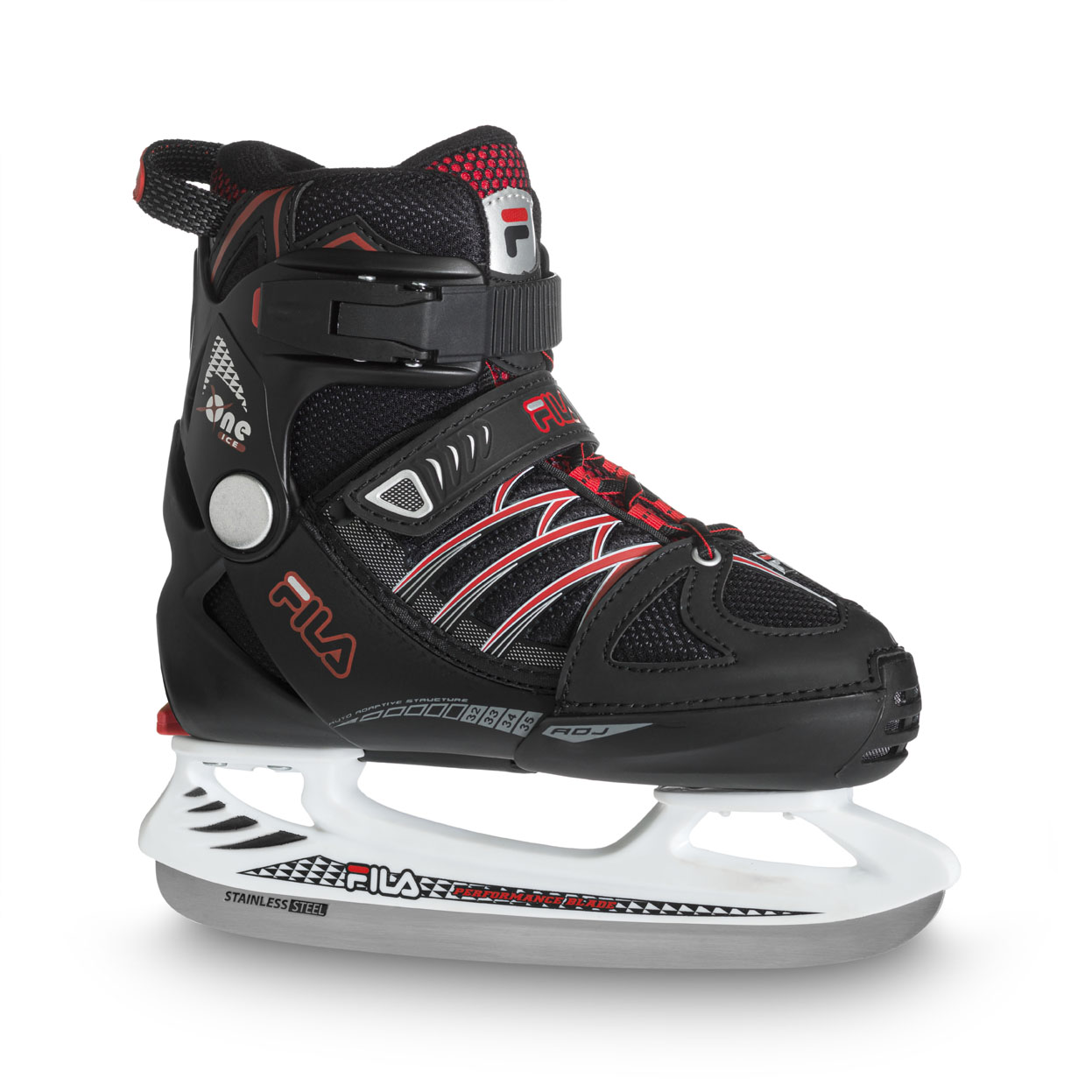 X-ONE ICE BLACK-RED
