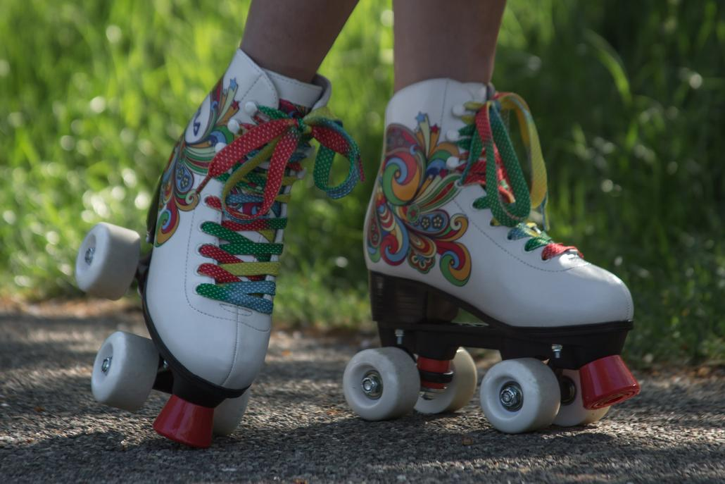 BELLA WHITE | Happiness and color in your life! | Fila Skates